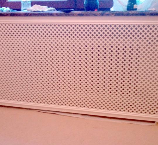 Решетка радиатора отопления для квартиры