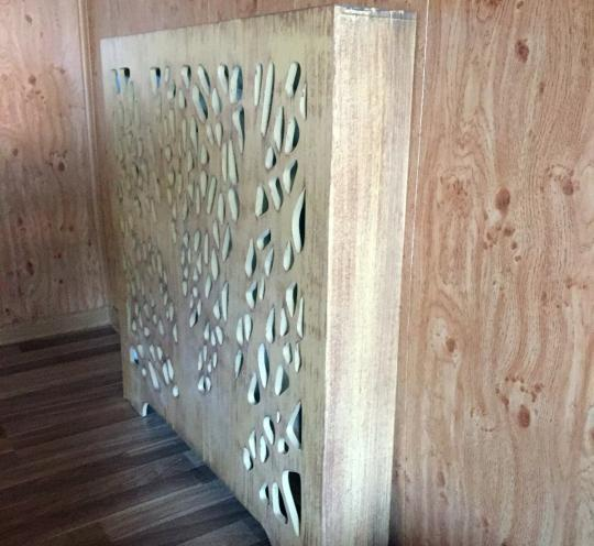Экраны радиаторов в комнату частного дома