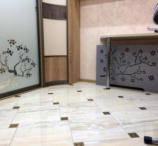 Декоративные экраны на батареи отопления для прихожей