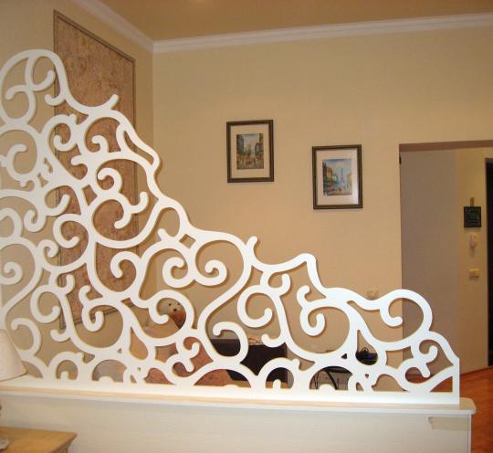Декоративная ширма для спальни