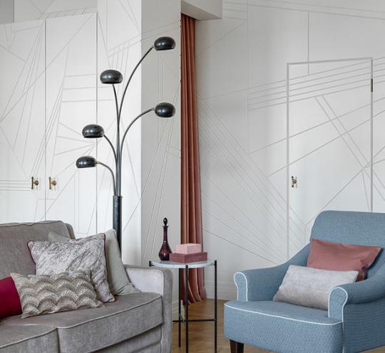 Панели стеновые с графическим рисунком из мдф для квартиры