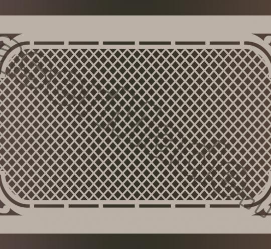 Экран Хай-тек Премиум для радиатора отопления