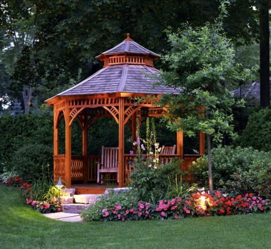 Сказочная беседка для сада