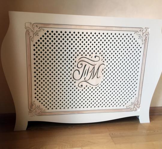 Необычная панель для радиатора отопления