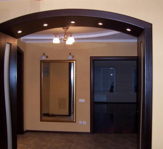 Шикарная арка с подсветкой