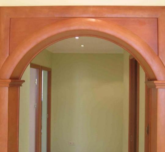 Флорентийская полукруглая арка – изящный элемент интерьера
