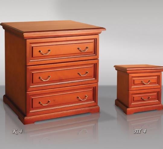 Стильные деревянные предметы мебели