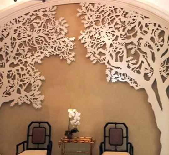 Уникальное объемное дерево на стену – эффектный декор интерьера