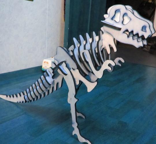 Конструктор деревянный Динозавр