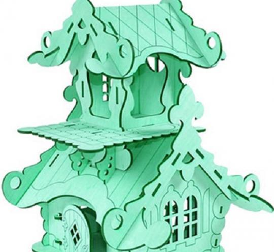 Сказочный дом – терем для кукол