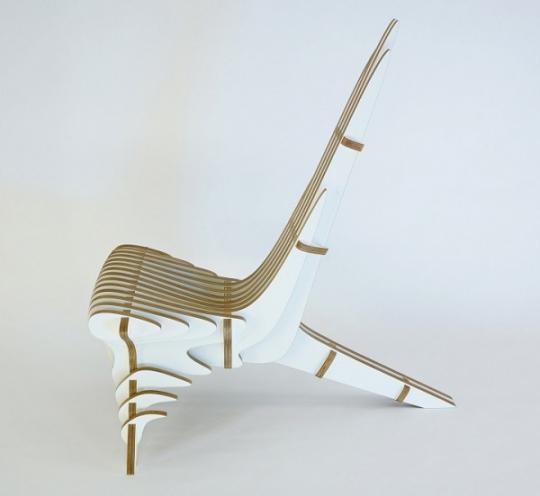 Уникальный деревянный стул