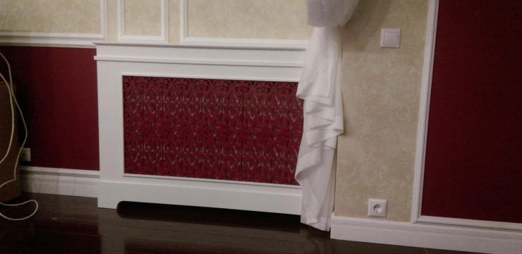 Ажурный экран – короб для радиаторов отопления
