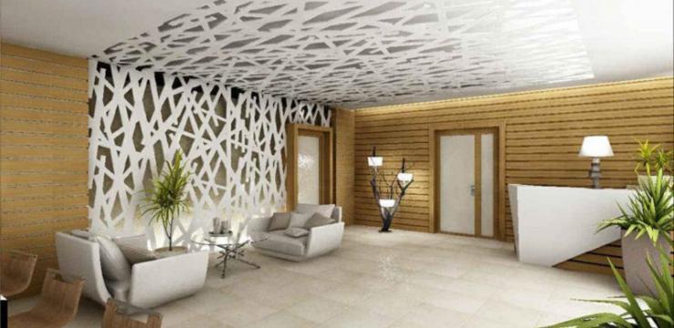 Ажурная стена – уникальный декор помещения