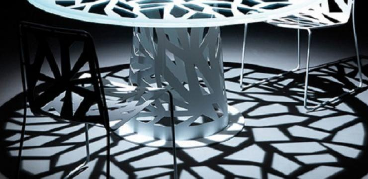 Элегантный круглый стол