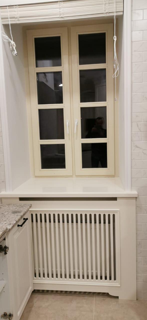 Решетка для радиатора отопления на кухню