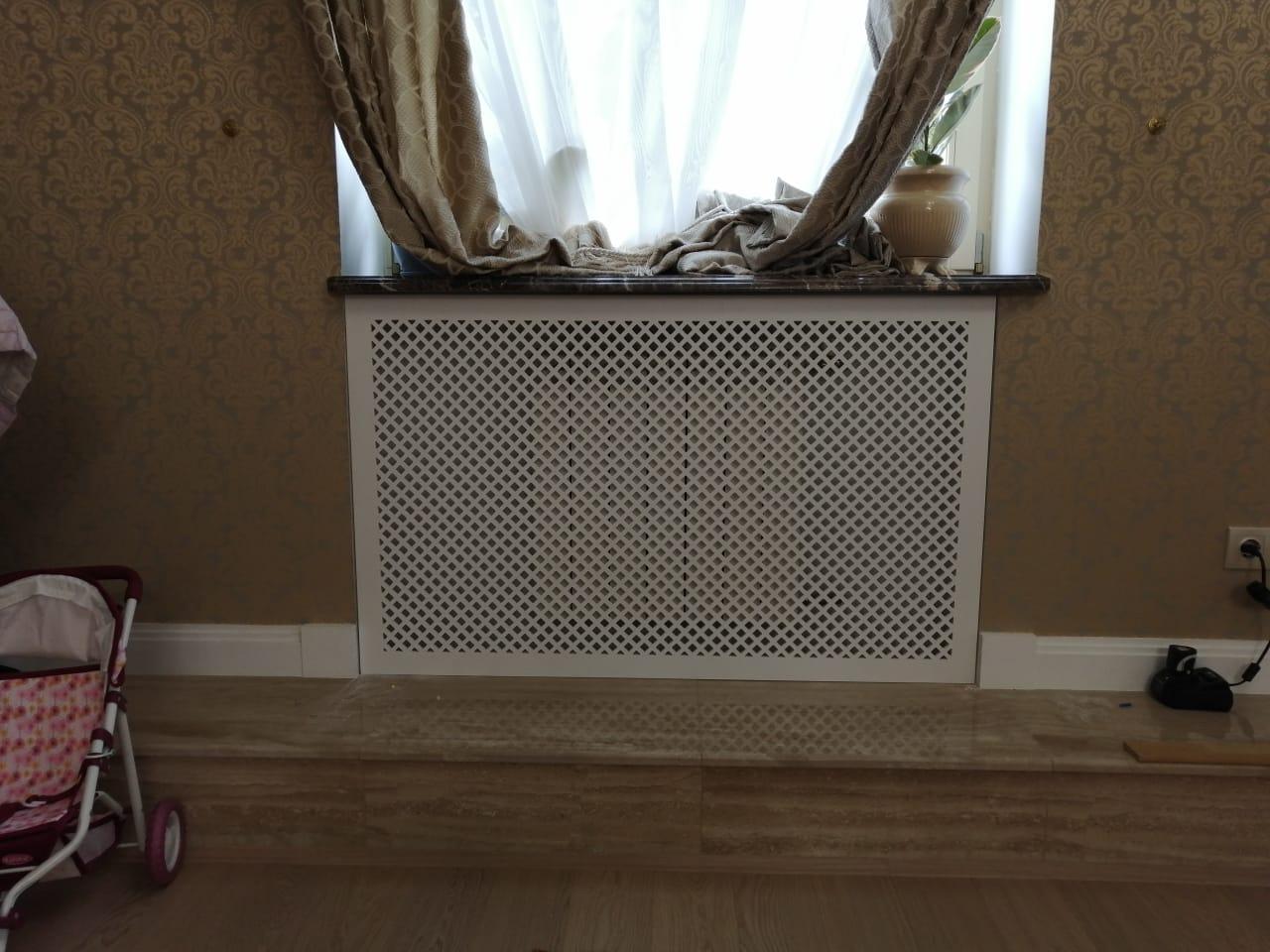 Декоративные экраны на радиаторы отопления в доме