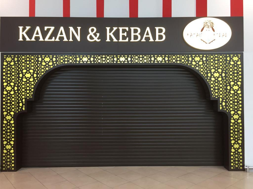 Декоративная арка в ресторан