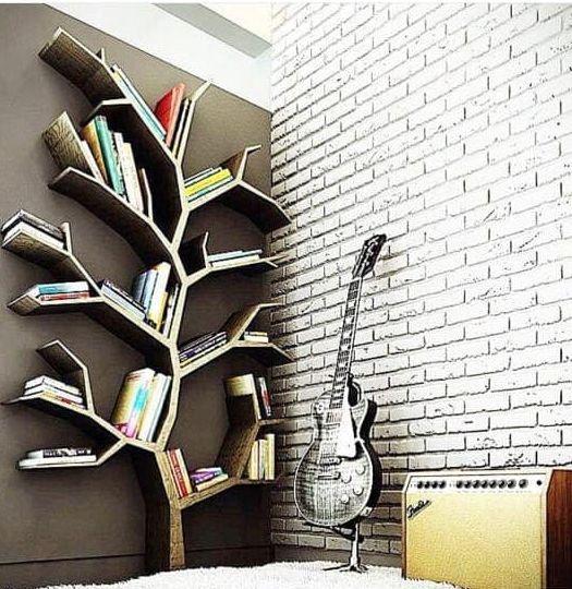 Декоративная вешалка-дерево для интерьера дома