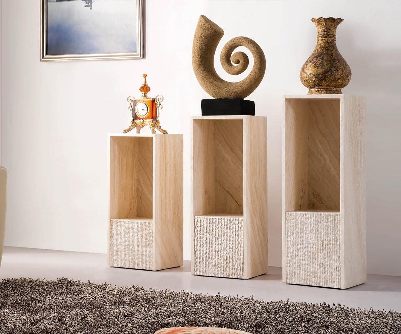 Комплект из трех стильных тумб