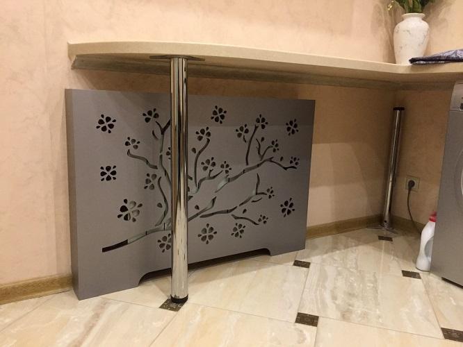 Ажурный экран – панель для приборов отопления