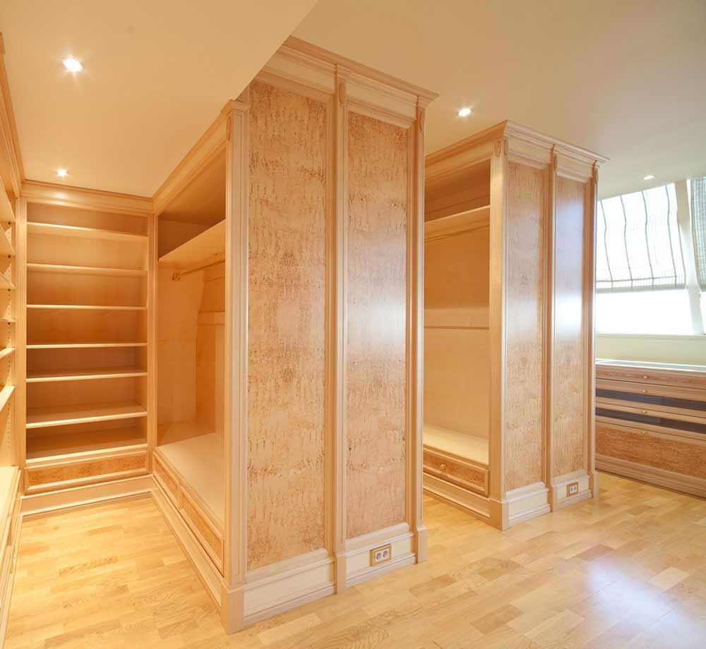 Современные шкафы для просторных помещений