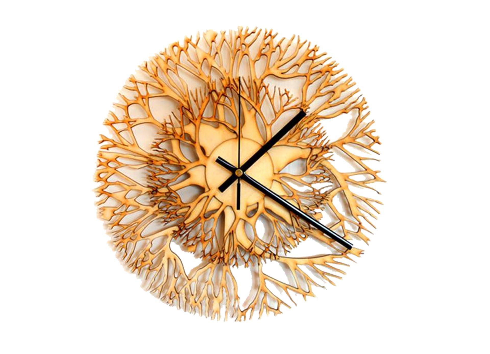 Стильные интерьерные часы