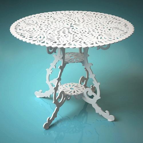 Элитный резной стол