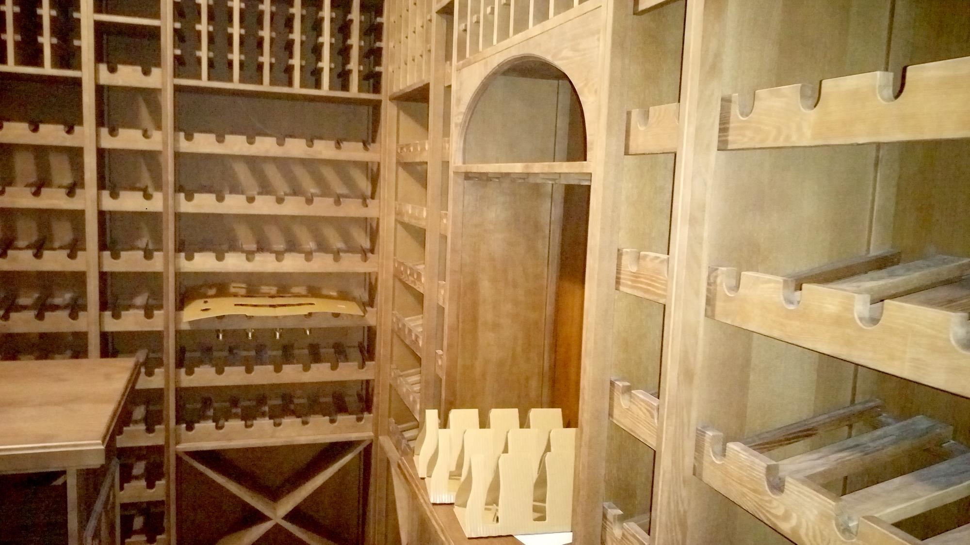 Разработка винного погреба под ключ