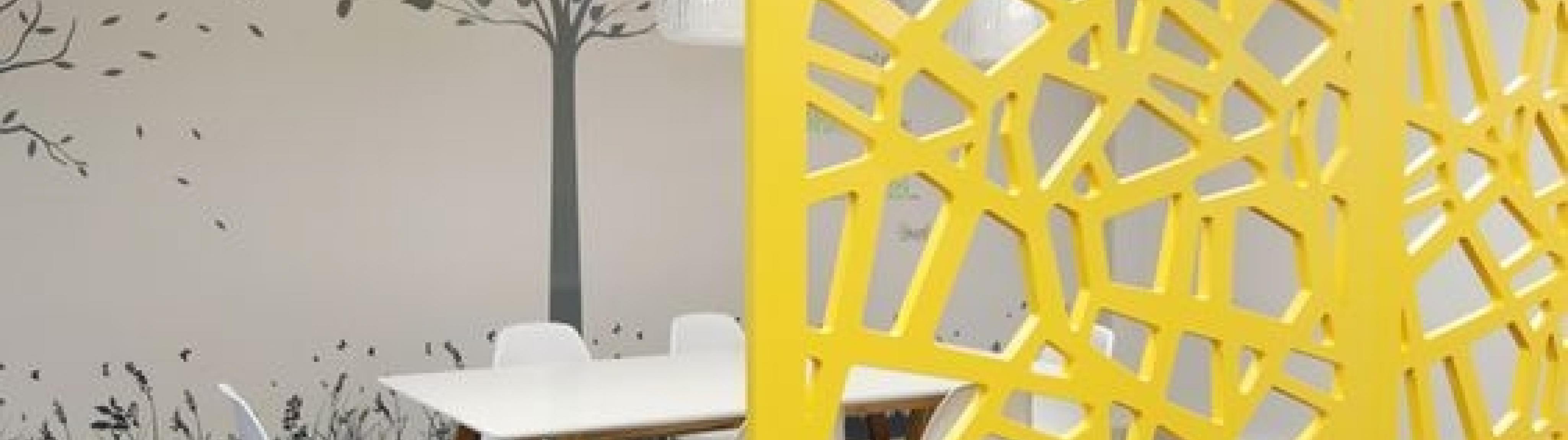 Декоративные перегородки для детских учреждений