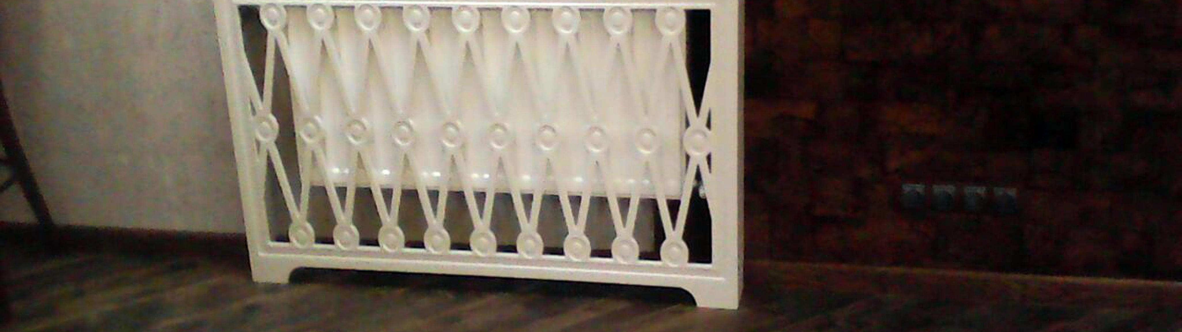 Экран короб на батарею отопления в дом