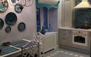Декоративное оформление отопительных радиаторов на кухне