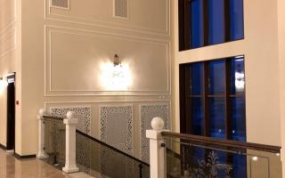 Элементы декора для интерьера гостиницы