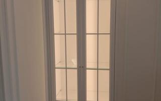 Фасад для витрины со стеклом