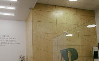 Стеновые панели из шпонированного МДФ с рисунком