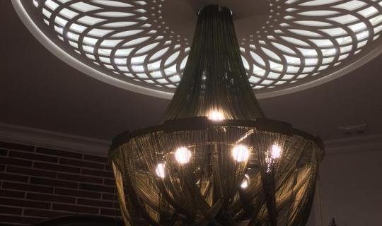 Дизайн потолочной люстры