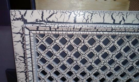 Декор экрана под мрамор