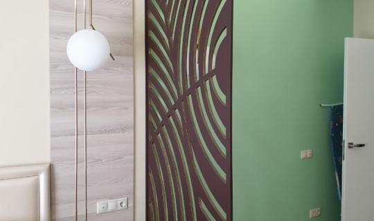 Декоративная перегородка в комнату